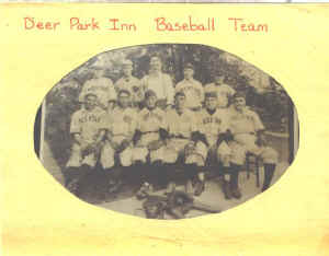Deer Park Inn Baseball Team