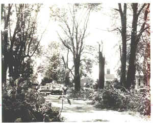 tornado of 1969 some where on the western side of Deer Park. Likely St. Johns Ter. or Landsdown.